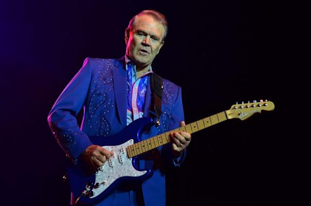 Glen Campbell in concert