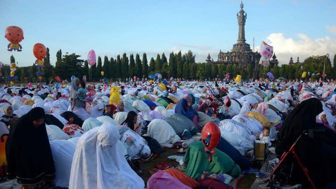 Daftar Daerah yang Bolehkan Gelar Salat Ied di Masjid