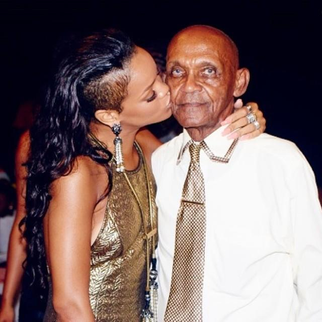 Rihanna Shares Sweet Selfies of Her Grandfather's 85th Birthday Bash
