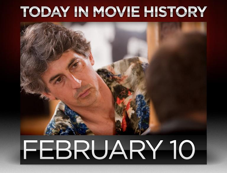 Today In movie history, February 10