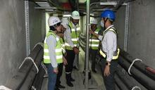 強化共同管線管理品質 張麗善視察虎尾高鐵特定區共同管道監控中心