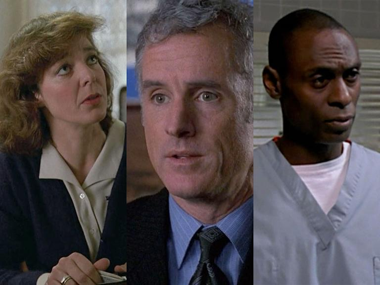 "Allison Janney '92 -- ""Star Struck""; '94 -- ""Old Friends"" (L&O), John Slattery '98 -- ""Tabloid""; '00 -- ""Stiff"" (L&O), Lance Reddick '01 -  ""Soldier of Fortune""; '04 -- ""City Hall"" (L&O); recurring role 2000-01 SVU"
