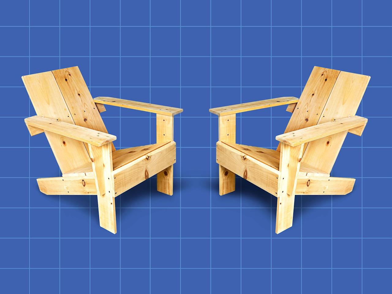 """<p>The backyard is an ideal place for relaxation and reflection, and for that you need a good, comfortable chair. But why buy one when you can build one with little more than a <a href=""""https://www.popularmechanics.com/about/a28319503/best-circular-saws/"""" target=""""_blank"""">circular saw</a> and <a href=""""https://www.popularmechanics.com/about/a27923491/best-cordless-drills/"""" target=""""_blank"""">cordless drill</a>? This backyard lounger isn't just easy and affordable to build; it's also both rustic looking and super comfy. </p><p>This lazy-boy lawn lounger is loosely based on a traditional 1903 Westport plank chair, which was the predecessor to the classic Adirondack chair. Our version, however, is much quicker and simpler to build. Plus, you can construct this chair from just two 10-foot-long pine 1x10s, and it shouldn't take much more than a couple of hours<br></p><p><a class=""""body-btn-link"""" href=""""https://www.popularmechanics.com/home/how-to-plans/how-to/g1608/how-to-make-a-two-board-backyard-lounger/"""" target=""""_blank"""">How to Build a Backyard Lounger</a></p>"""