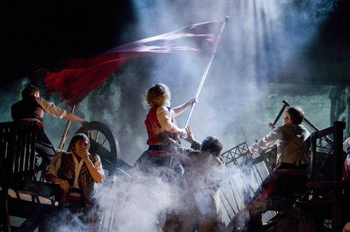 'Les Miserables' Barricades Back at Broadway's Imperial