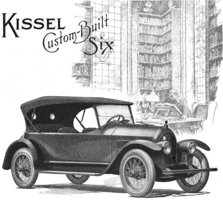 June 5: Kissel Motor Car Company was founded on this date in 1906