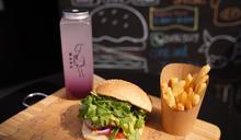 必試麻辣雞堡/芫荽牛堡 每日手打150g漢堡扒 深水埗親民漢堡小店
