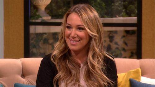 Haylie Duff on Access Hollywood Live, June 2, 2014 -- Access Hollywood