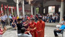 屏市宗聖公祠展出傳統剪紙藝術(3) (圖)