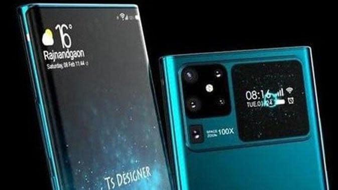 Render Huawei Mate 40 Muncul di Internet, Seperti Apa?