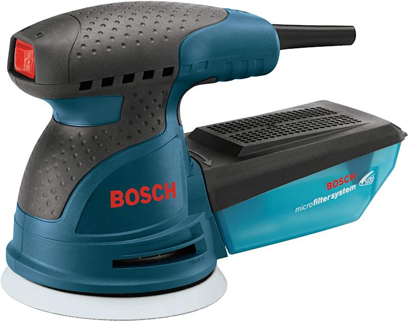 Bosch ROS10 120 Volt Random Orbit Sander. Save $30 when you spend $150 or more on select Bosch and Dremel tools.