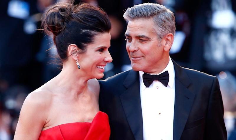 Sandra Bullock Has the Best Day Ever as 'Gravity' Lifts Off in Venice