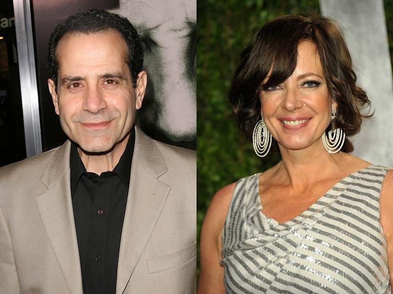 Tony Shalhoub and Allison Janney (Friday Night Dinner, NBC)