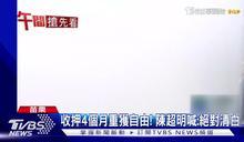 涉貪5百萬交保! 陳超明回服務處過火爐