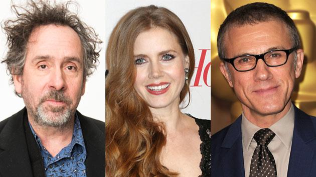 Tim Burton, Amy Adams, and Christoph Waltz To Open 'Big Eyes.'