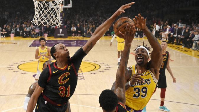 Hasil NBA: LeBron dan Howard Pimpin Lakers Lumat Cavaliers