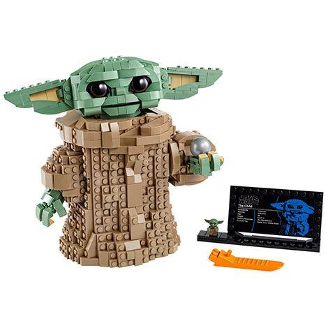 """<p>LEGO is all over Baby Yoda: He's a minifig in The Razor Crest and his own BrickHeadz set (more on both of those below), and, now, LEGO fans can build their own 7.5"""" tall Child. When the 1,073-piece set it built, it has a posable head, movable ears and its own gear shift knob as a toy. You can pre-order now, and it shops on October 30. <em>Ages 10+</em></p><p><a class=""""body-btn-link"""" href=""""https://go.redirectingat.com?id=74968X1596630&url=https%3A%2F%2Fwww.lego.com%2Fen-us%2Fproduct%2Fthe-child-75318&sref=https%3A%2F%2Fwww.goodhousekeeping.com%2Fchildrens-products%2Ftoy-reviews%2Fg31157593%2Fbaby-yoda-toys%2F"""" target=""""_blank"""">BUY NOW</a></p>"""