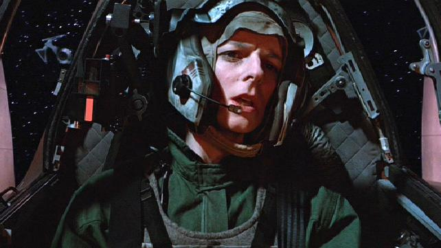 Three female Rebel pilots were discharged from 'Return of the Jedi'