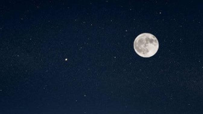 ilustrasi bulan. (iStockphoto)