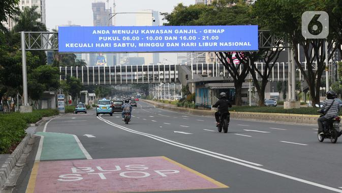 Ganjil Genap Diberlakukan Besok, Dishub DKI: Itu Kebijakan Rem Darurat