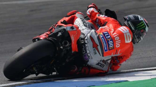 Pembalap Tim Ducati, Jorge Lorenzo