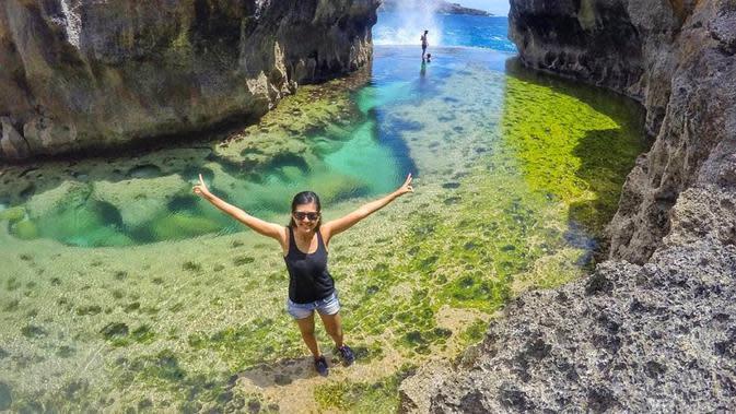 Angel's Billabong, Nusa Penida, Bali. (nusa-penida.info)