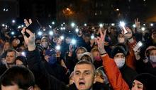白俄抗議人士被捕後身亡 首都數千人上街哀悼