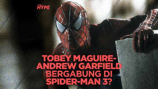 Tobey Maguire dan Andrew Garfield Bergabung di Spider-Man 3?