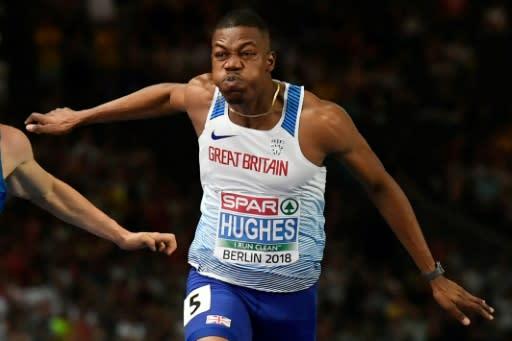 Hughes pipped compatriot Prescod to gold in Berlin