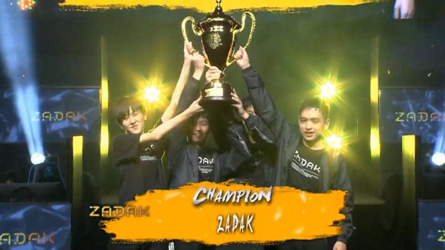 比賽最後由ZK奪冠