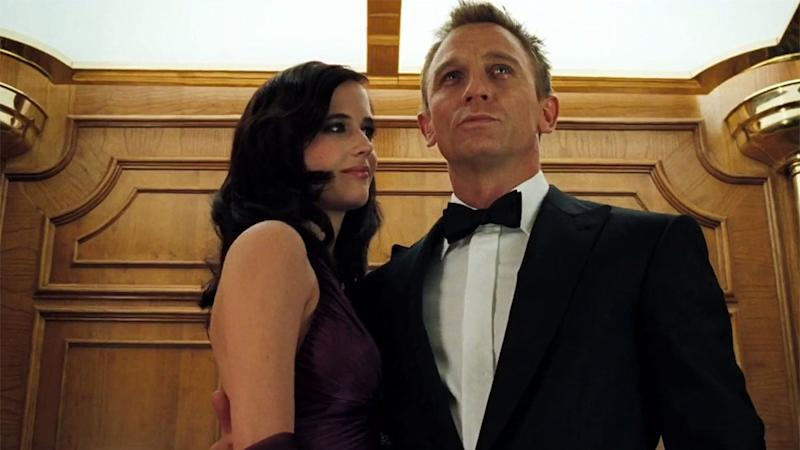 Eva Green and Daniel Craig in Casino Royale