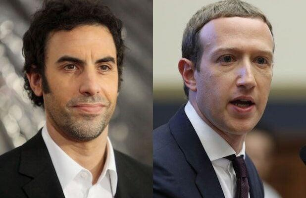 Sacha Baron Cohen: 'I Had to Ring the Alarm' on Facebook's Handling of Holocaust Deniers