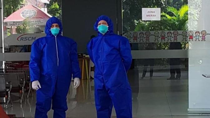 Skrining di RSCM cegah COVID-19 sejak 6 April 2020, pasien dan pengunjung yang demam akan masuk ke zona merah. (Dok RS Cipto Mangunkusumo Jakarta)