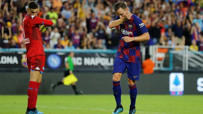 Gelandang Barcelona, Ivan Rakitic.(Michael Reaves / GETTY IMAGES NORTH AMERICA / AFP)