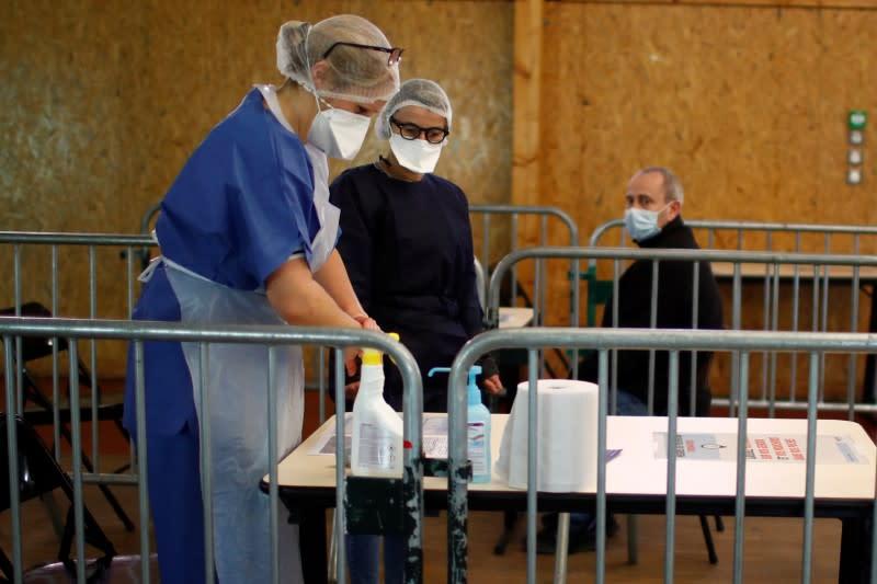 Developments in France amid growing coronavirus disease (Covid-19)