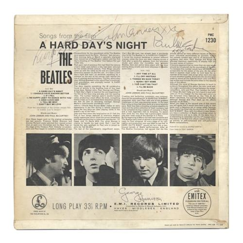 Beatles' Memorabilia for Sale Surges With 50th Anniversary of First U.S. Visit