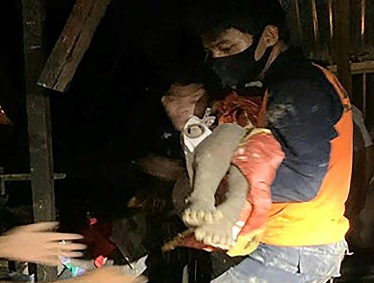 Indonesia landslides kill 11 including infant twins