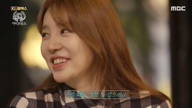 Yoon Eun Hye dalam tayangan dokumenter yang mengangkat Coffee Prince (Tangkapan Layar YouTube/ MBClife)