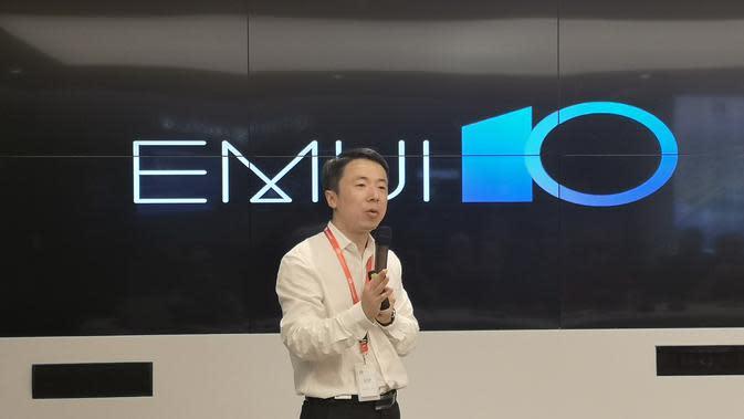 Huawei resmi memperkenalkan EMUI 10 (Liputan6.com/Agustinus M.Damar)