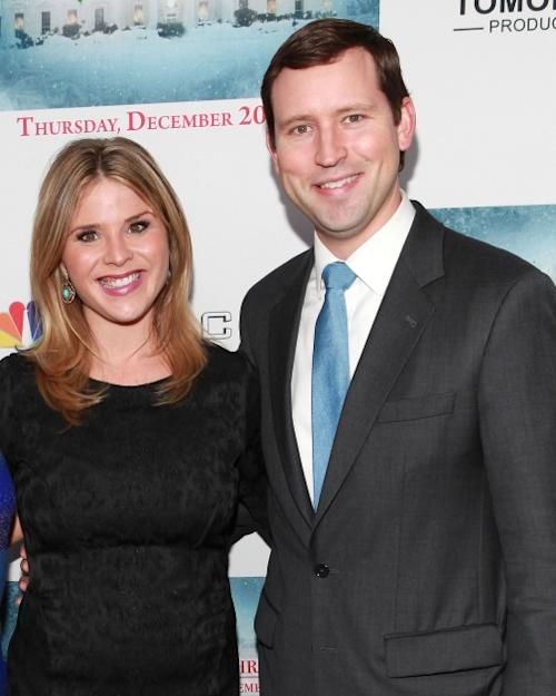 Jenna Bush Hager and husband Henry Chase Hager attend 'A White House Christmas: First Families Remember' Premiere Party at Tenjune, New York City, on December 12, 2012 -- Getty Images