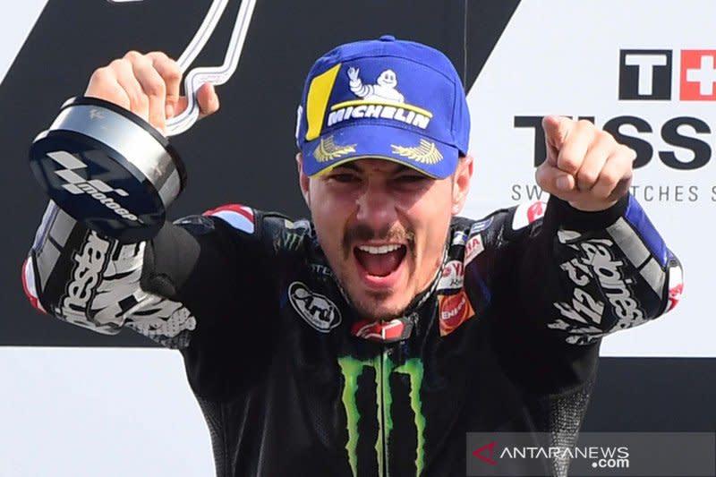 Vinales tercepat di FP1 GP Aragon yang sempat tertunda
