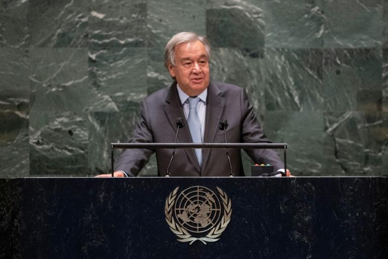 UN chief appeals for 'responsible' pandemic leadership