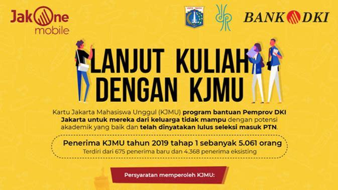 Lanjut Kuliah dengan Kartu Jakarta Mahasiswa Unggul (KJMU)