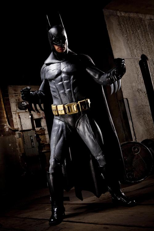 """This undated photo provided by Vivid Entertainment Group shows Giovanni Francesco as Batman in """"Dark Knight XXX: A Porn Parody"""" directed by Axel Braun. The film, released three years ago, became the biggest-selling porn movie of the year and inspired a seemingly endless succession of imitators starring the likes of Superman, Spider-Man, Ironman, The Incredible Hulk and Wonder Woman. (AP Photo/Vivid Entertainment Group)"""