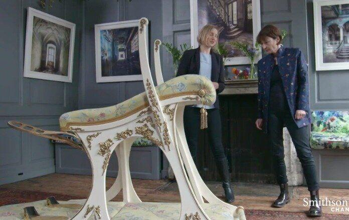 King Edward VII's sex chair is raising eyebrows, and questions