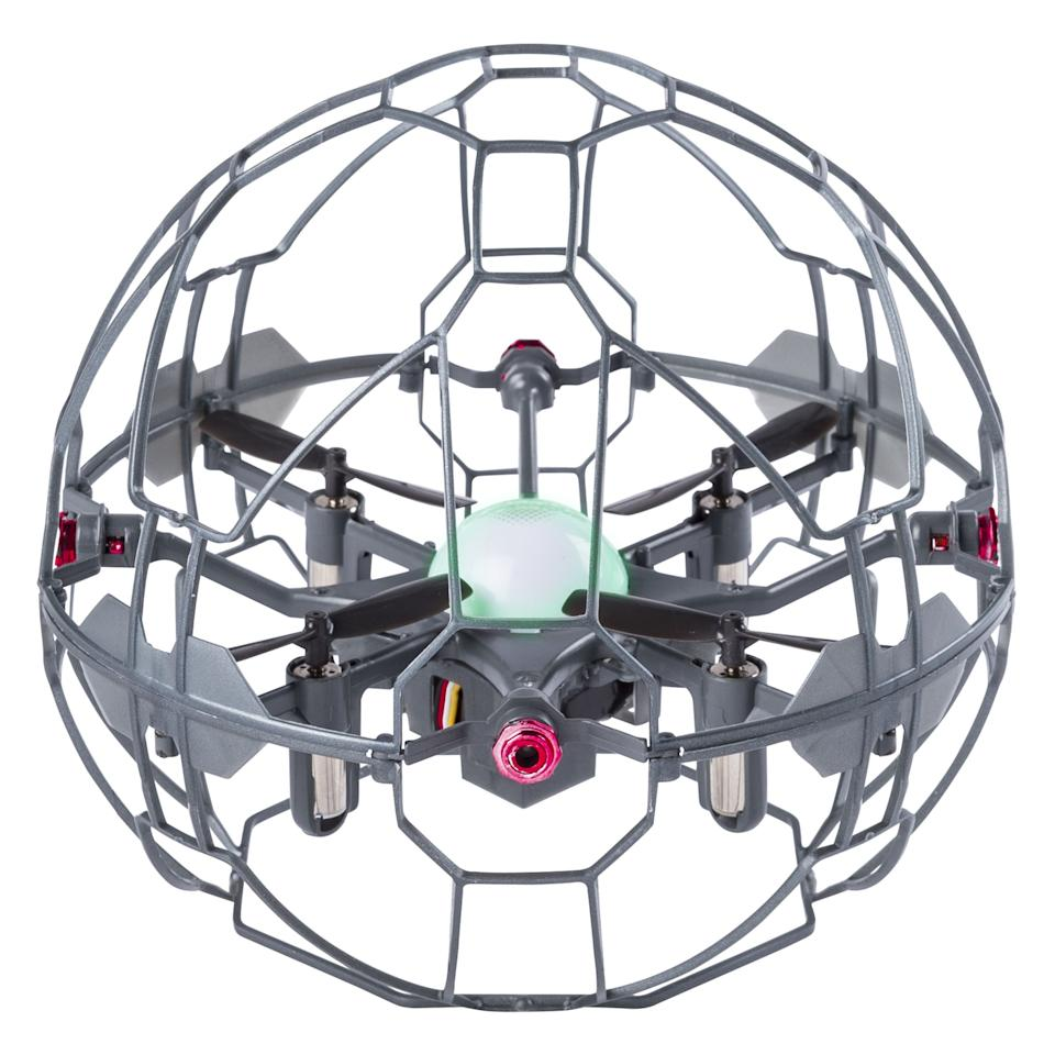 """<p><strong>Air Hogs</strong></p><p>walmart.com</p><p><strong>$39.99</strong></p><p><a href=""""https://go.redirectingat.com?id=74968X1596630&url=https%3A%2F%2Fwww.walmart.com%2Fip%2F993047222&sref=https%3A%2F%2Fwww.popularmechanics.com%2Fflight%2Fdrones%2Fg33752310%2Fbest-drones-for-kids%2F"""" target=""""_blank"""">Shop Now</a></p><p>We tested (and broken!) a lot of drones in our lab, but we've yet to break this one. While you appreciate the durability, your kids will love the way this one is controlled: with their hands, no remote control needed.<strong> Using hand-gestures to make this palm-size drone zip around</strong> will make them feel like magicians. </p>"""