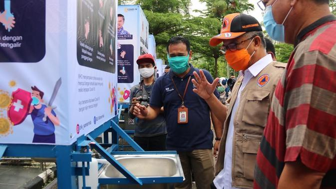 BLK Samarinda Sumbang APD bagi Tim Gugus Tugas Covid-19