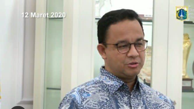 Jakarta Melawan COVID-19, Anies: Dua Minggu ke Depan Adalah Kunci
