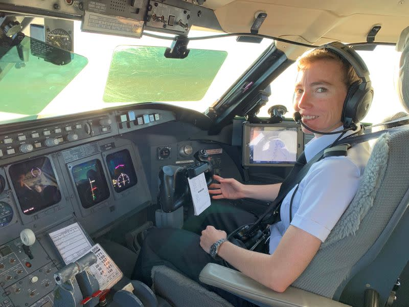 Last in, first out: Female pilots bear brunt of airline job cuts