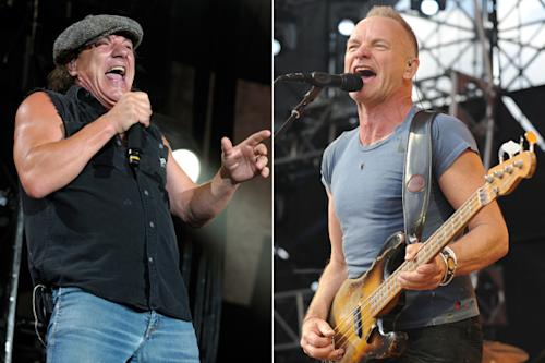 AC/DC's Brian Johnson to Guest on Sting's next Album