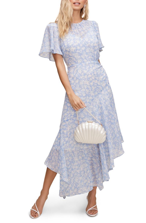 ASTR the Label Floral Print Dress. Image via Nordstrom.